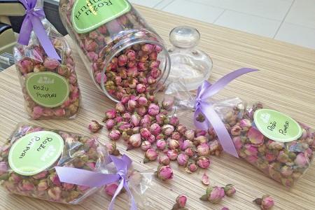 Rožu pumpuru tēja