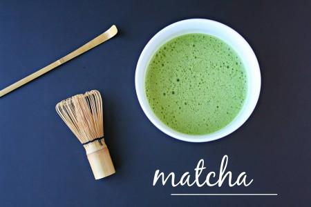Matcha tējas pulveris