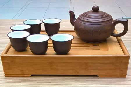 Tējas ceremoniju servīzes